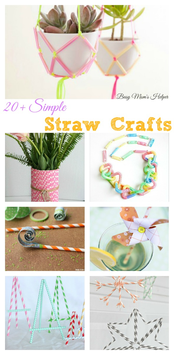 20+ Simple Straw Crafts / by Busy Mom's Helper