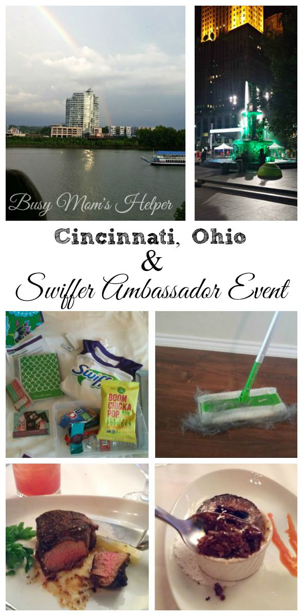 Cincinnati, Ohio & Swiffer Ambassador Event / by Busy Mom's Helper #ambassador