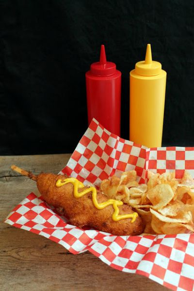 Disneyland Hand Dipped Corn Dogs / by The Stay at Home Chef / Round up by Busy Mom's Helper