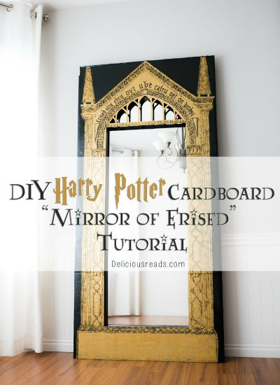 Mirror of Erised Tutorial / by Delicious Reads / Round up by Busy Mom's Helper