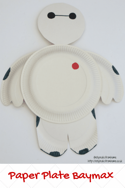 Paper Plate Baymax / by ET Speaks from Home / Round up by Busy Mom's Helper