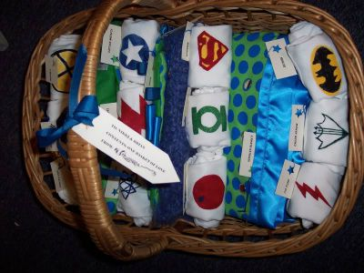 Superhero Baby Shower Onesie Station / by Craftster / Round up by Busy Mom's Helper