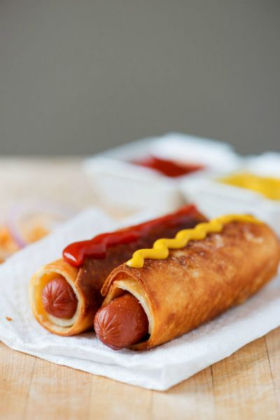 Tortilla Hot Dog Wraps / by BS in the Kitchen/ Round up by Busy Mom's Helper