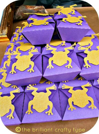 Chocolate Frog Box Printables / by The Brilliant Crafty Type / Round up by Busy Mom's Helper