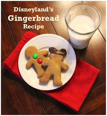 Disney's Gingerbread Recipe / from Babes in Disneyland / Round up by Busy Mom's Helper