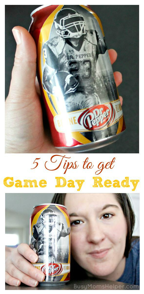 5 Tips to Get Game Day Ready / by Busy Mom's Helper #ad