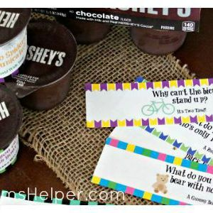 Free Printable Joke Labels for Snacks / by Busy Mom's Helper #ReadySetSnack #ad