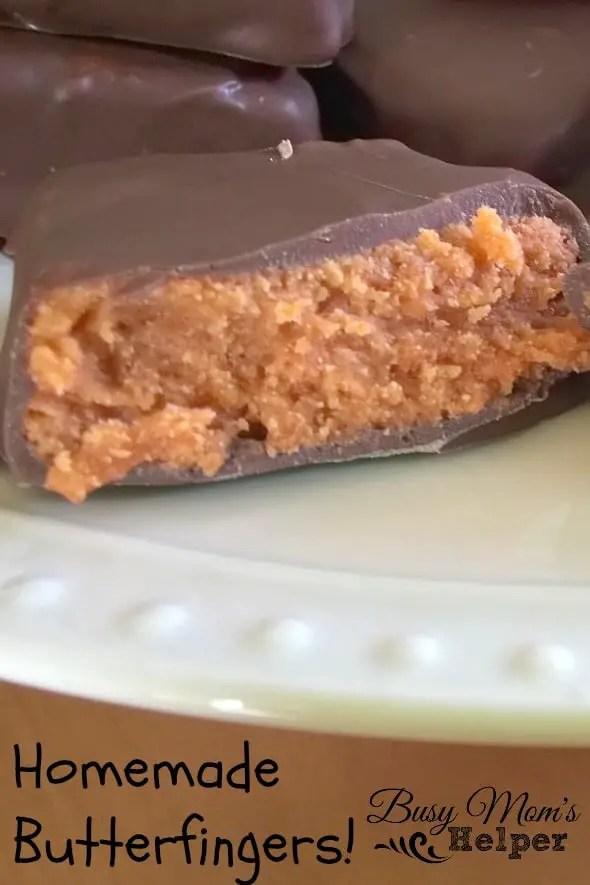 Homemade Butterfingers! by Nikki Christiansen for Busy Mom's Helper