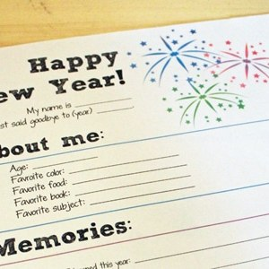 New Year's Eve Printable for Kids | One Mama's Daily Drama for Busy Mom's Helper