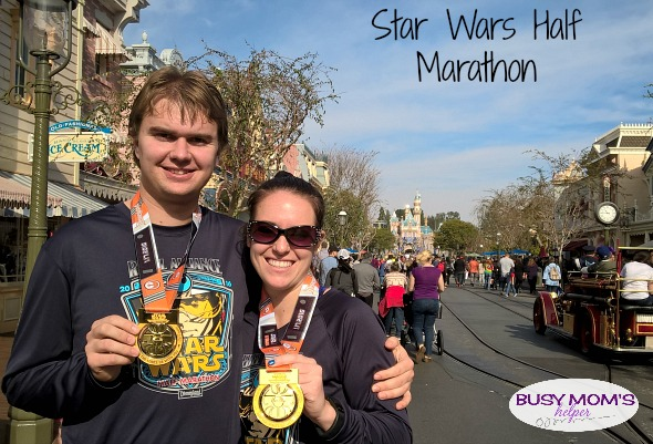 Star Wars Half Marathon by Nikki Christiansen for Busy Mom's Helper