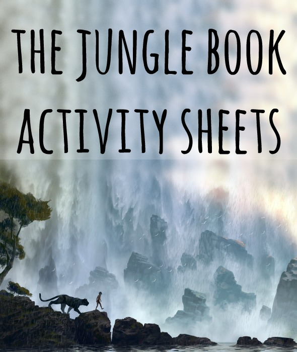 Disney's The Jungle Book Activity Pages / fun Jungle Book Activities for kids / shared by BusyMomsHelper.com