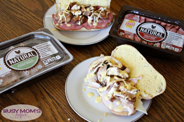 Truffle Mayo Turkey Sandwich with Mushrooms / by BusyMomsHelper.com #OscarMayerNatural #sponsored