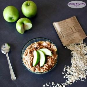 Apple Fritter Oatmeal / by BusyMomsHelper.com / Easy Breakfast Recipe #BringYourBestBowl #Walmart #ad