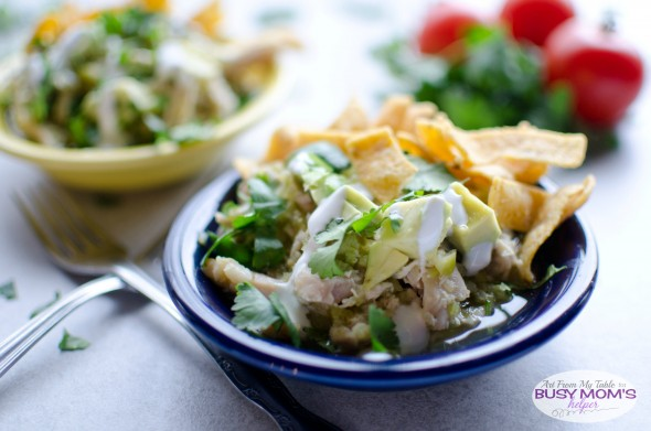chicken bowls with homemade salsa verde