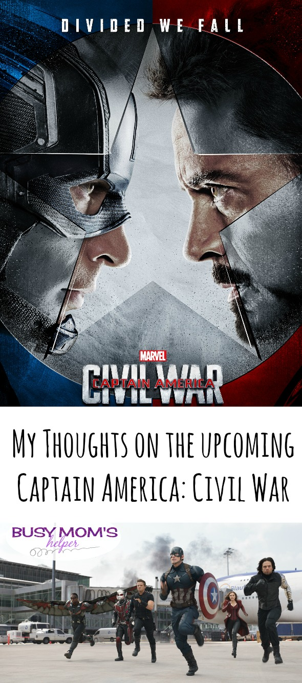 Thoughts and Guesses for Captain America: Civil War / by BusyMomsHelper.com
