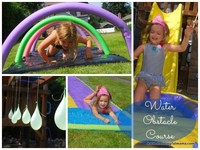 1 water obstacle course kids summer activities