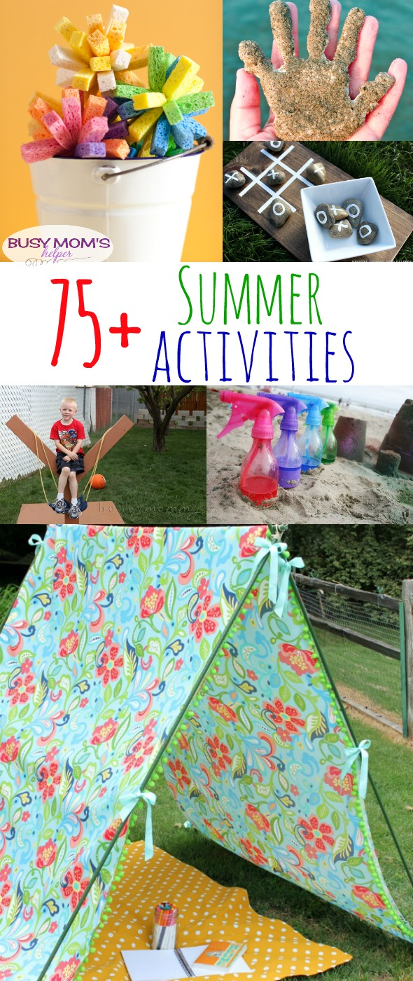 75+ More Summer Activities for Kids and Families / round up by BusymomsHelper.com