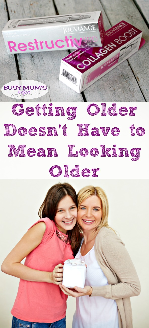 Getting Older Doesn't Have to Mean Looking Older / by BusyMomsHelper.com / Style and Beauty / Stay Looking Younger! #BonJourJouviance #ad #SoapboxInfluence #MegaphoneInfluence