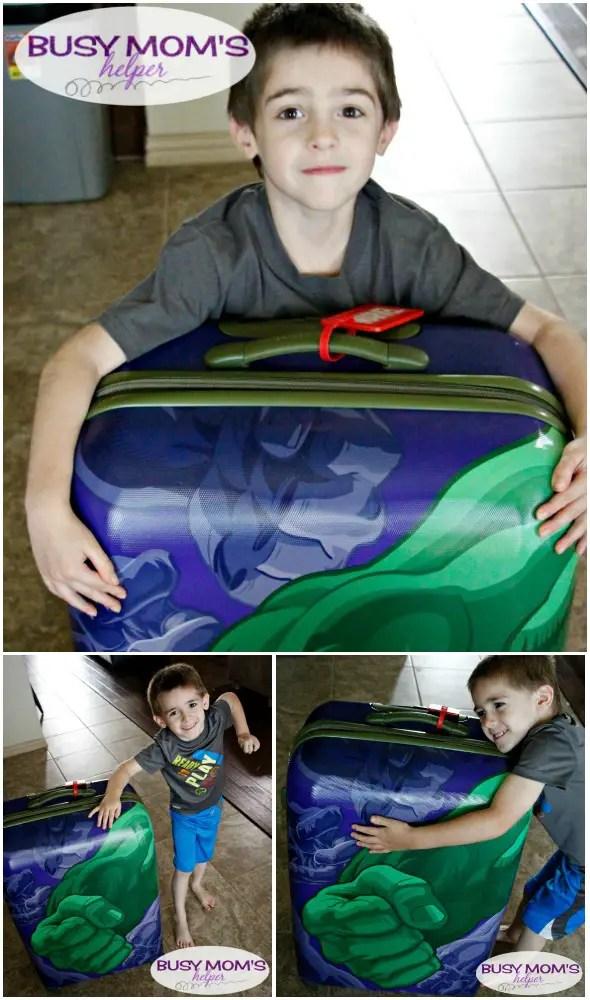 Marvel Superhero Luggage Tags/ printable superhero tags / by BusyMomsHelper.com #sponsored #PackMoreFun