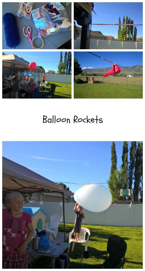 Balloon Rockets by Nikki Christiansen for Busy Mom's Helper