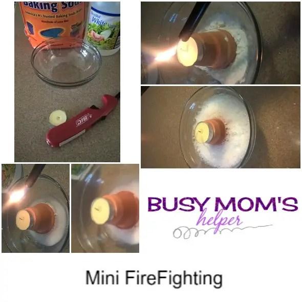 Summer Science FireFighting by Nikki Christiansen for Busy Mom's Helper