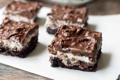 Brownie Marshmallow Crunch Bars
