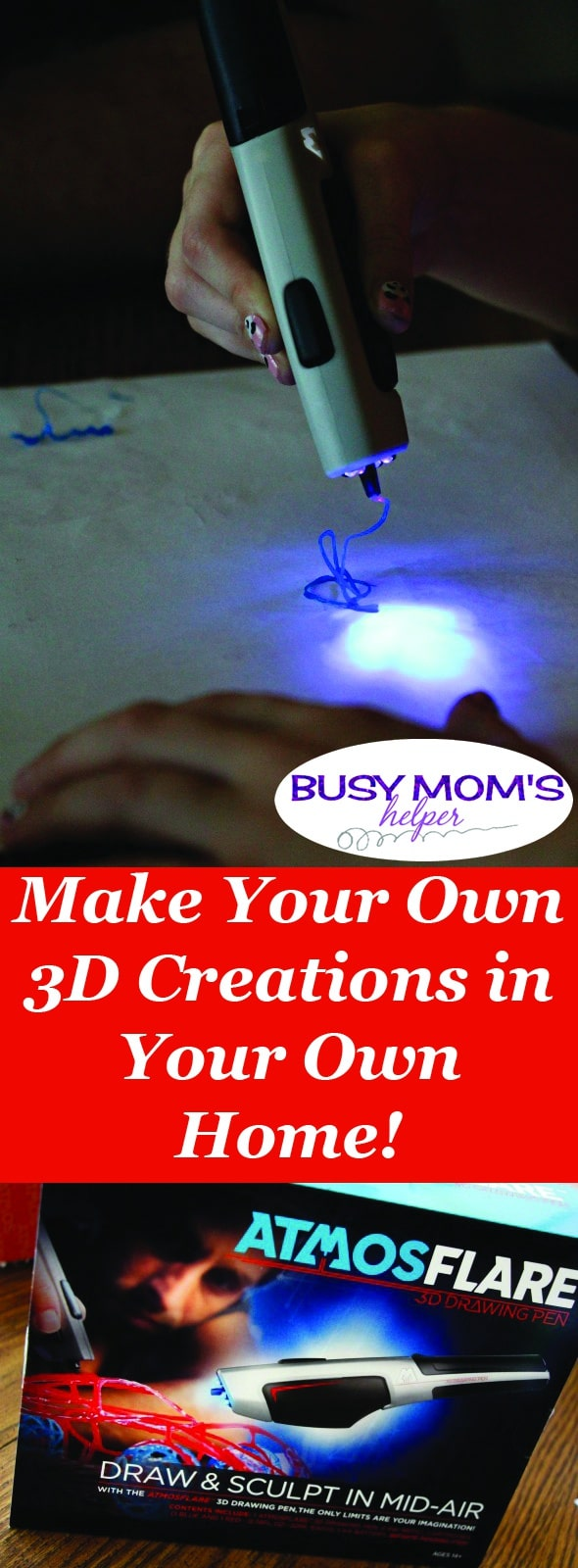 Now you can do 3D Printing in Your Own Home! #ad #3DPen #FunWith3D