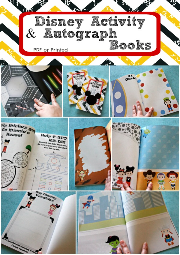photo about Free Printable Autograph Pages referred to as Disney Match Autograph Ebook - Active Mothers Helper