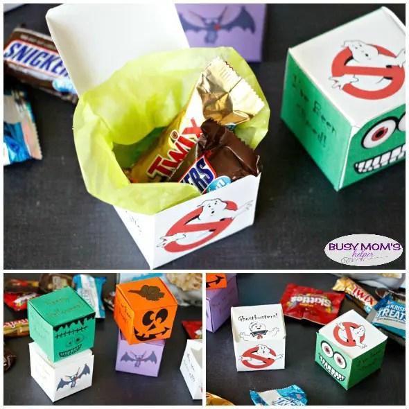 Printable Halloween BOOing Boxes / a great idea for 'You've Been BOO'd' #BOOItForward @Walmart #ad