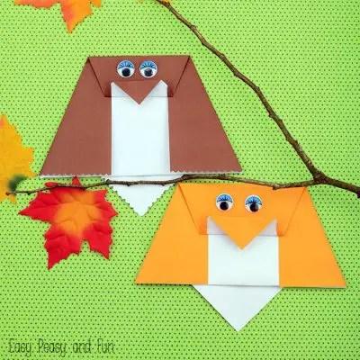 Easy-Origami-Owl-For-Kids