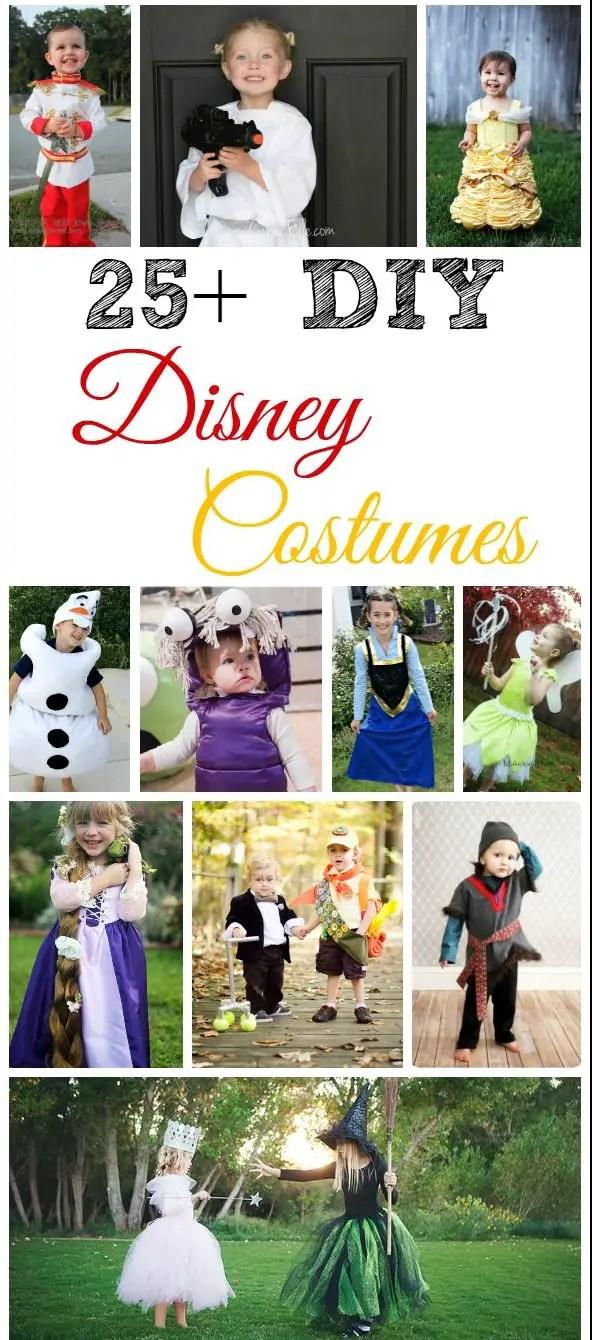 25+ DIY Disney Costumes