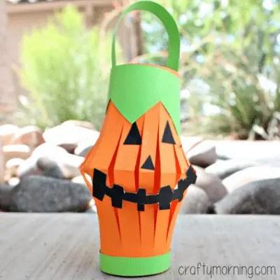 pumpkin-toilet-paper-roll-lantern-craft