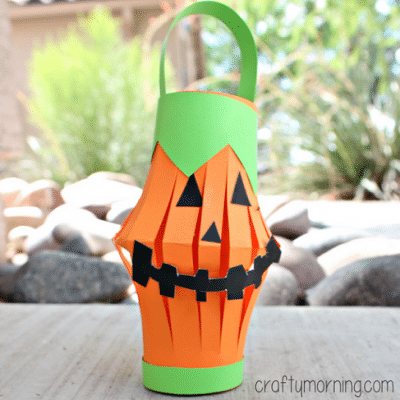 pumpkin-toilet-paper-roll-lantern-craft