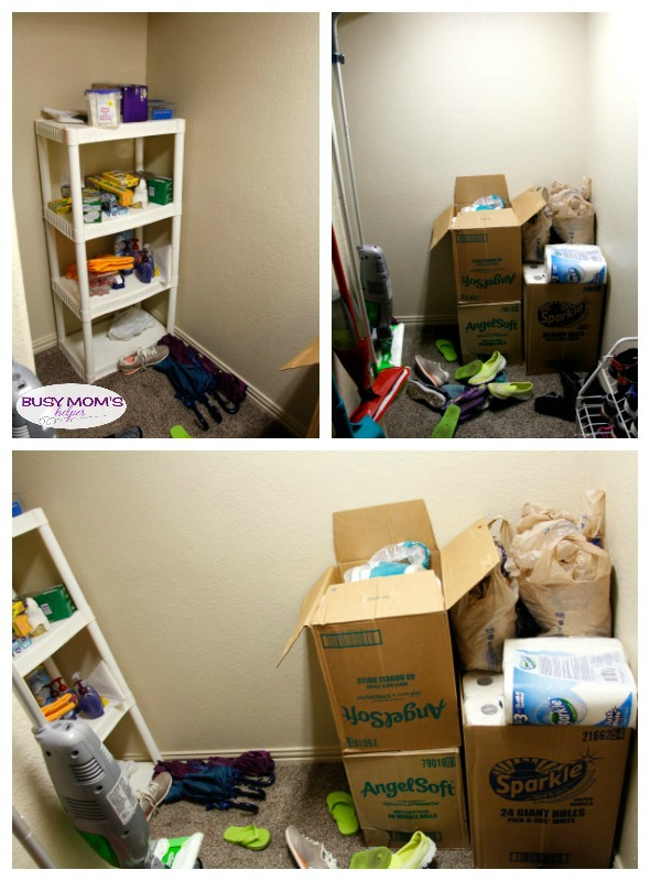 How to get More Usable Space in Your Closet #ad #WinterizeYourClosets