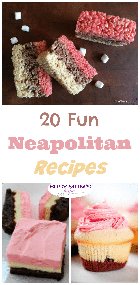 20 Fun Neapolitan Recipes
