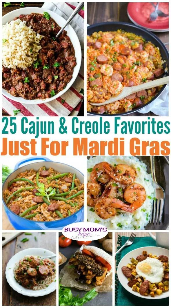 25 Cajun & Creole Favorites Just for Mardi Gras