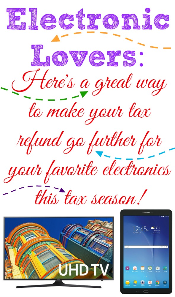 Elecronic Lovers: Here's a great way to make your tax refund go further for your favorite electronics this tax season! #SamsungAtWalmart #IC #ad