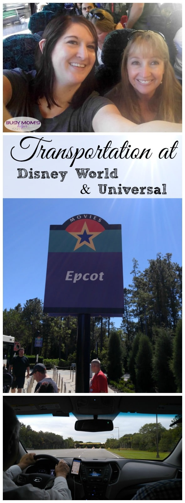 Transportation at Walt Disney World & Transportation at Universal Orlando