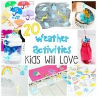 20 Weather Activities Kids Will Love