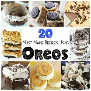 20 Must Make Recipes Using OREOS