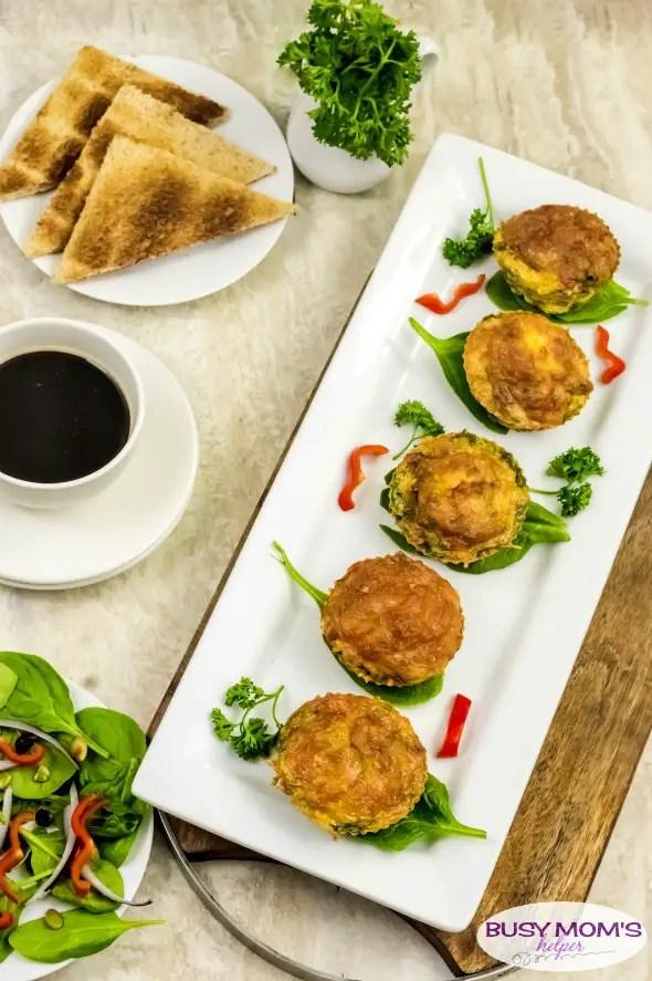 Easy Frittata Cups / a great easy breakfast recipe