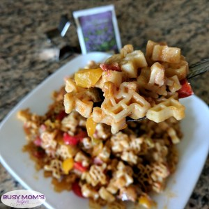 Fajita Pasta Casserole #AD #HowdySkinner A delicious and easy-to-make pasta recipe perfect for a busy weeknight meal that pleases the whole family!