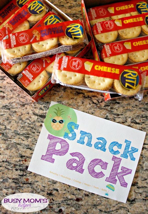 Free On-The-Go Snack Printable #ad #RITZFilledBackToSchool