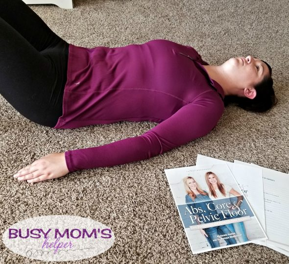Taking Care of MY Body with the Abs, Core & Pelvic Floor Program by Natalie Hodson and Dr. Middlekauff #AbsCorePelvicFloor #Pmedia #ad