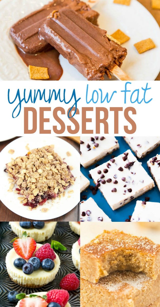 Low Fat Desserts / a great round up of delicious low fat dessert recipes