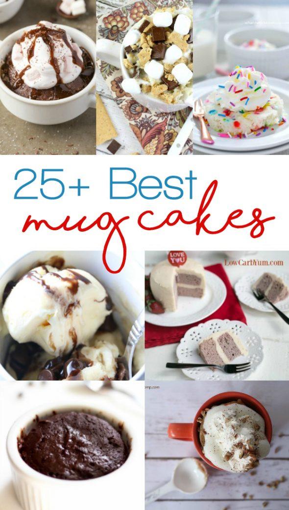 25+ of the Best Mug Cake Recipes