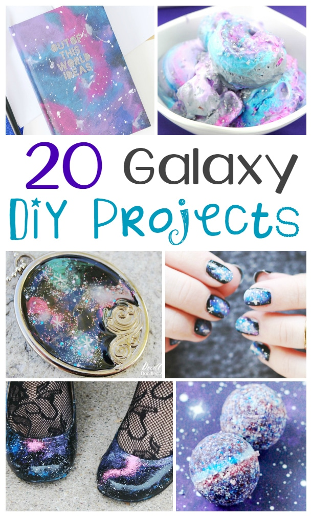 20 DIY Galaxy Projects