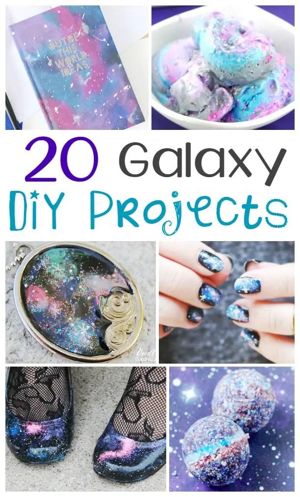 20 DIY Galaxy Projects