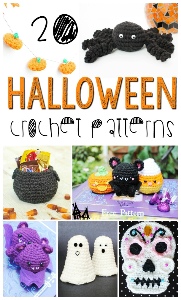 20 Halloween Crochet Patterns