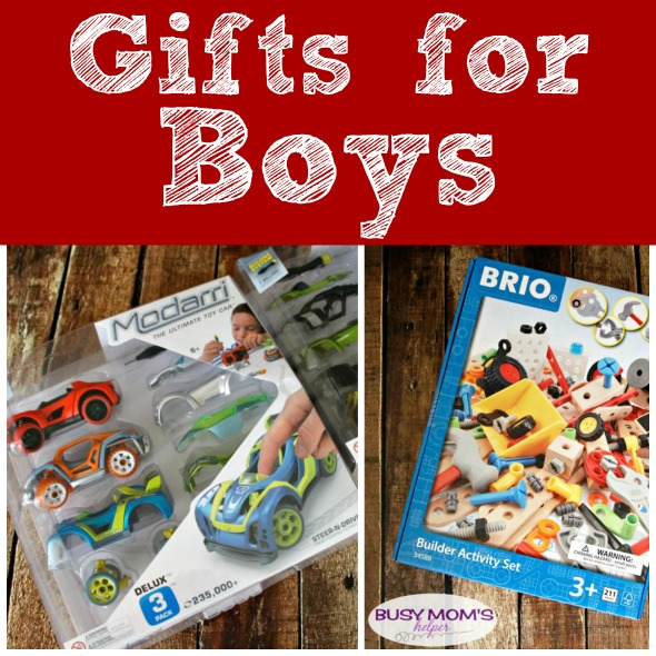 Gifts for Boys: a holiday gift guide 2017